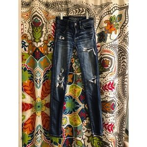 ANERICAN EAGLE super stretch skinny jeans jeggings